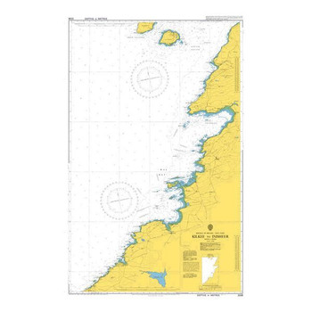 ADMIRALTY Chart 3338: Kilkee to Inisheer