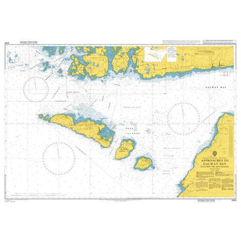 ADMIRALTY Chart 3339: Approaches to Galway Bay including the Aran Islands