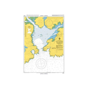 ADMIRALTY Chart 3725: Baltimore Harbour