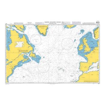 ADMIRALTY Chart 4011: North Atlantic Ocean Northern Part