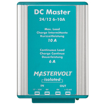 Mastervolt DC Master - 24V/12V - 6A (Isolated) - Straight View