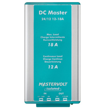 Mastervolt DC Master - 24V/12V - 12A (Isolated) - Straight View