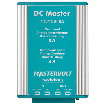 Mastervolt DC Master - 12V/12V - 6A (Isolated) - Straight View