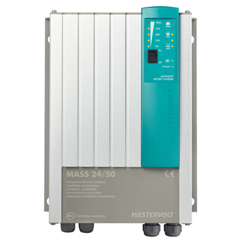 Mastervolt Mass Battery Charger - 24V/50A - 2 (230V) - DNV GL - Straight View