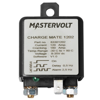 Mastervolt Charge Mate 1202 - Straight view