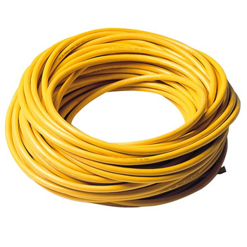 Mastervolt Moulded Oil Resistant Shore Cable - Yellow - 3x2.5mm² - 25m