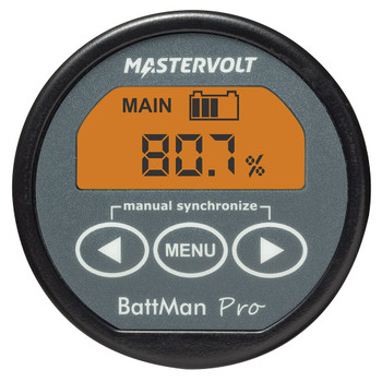 Mastervolt BattMan Pro - Straight View