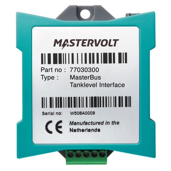 Mastervolt MasterBus Tank Level Interface - Straight View
