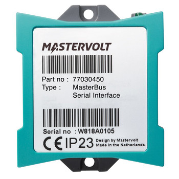 Mastervolt MasterBus Serial Interface - Straight View