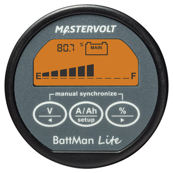 Mastervolt BattMan Lite - Straight View