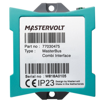 Mastervolt MasterBus Combi Interface - Straight View