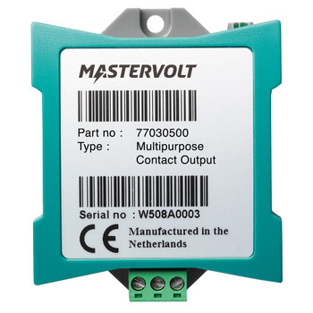 Mastervolt MasterBus Multi Purpose Contact Output - Straight View
