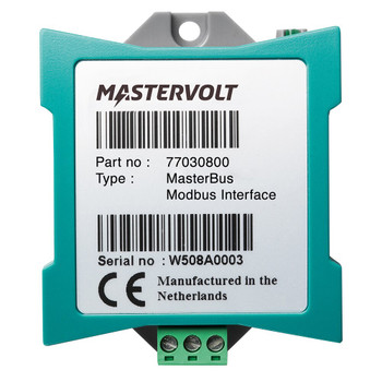 Mastervolt MasterBus Modbus Interface - Straight View