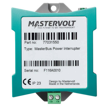 Mastervolt MasterBus Power Interrupter - Straight View