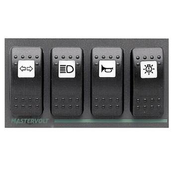Mastervolt Switch Input 4 PCB - Straight View