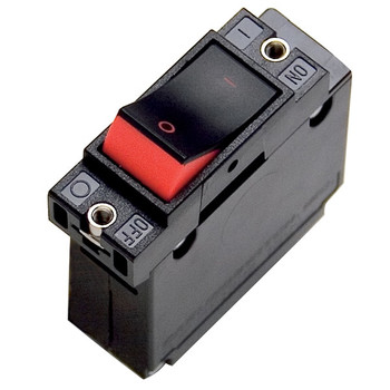 Mastervolt Single Pole Circuit Breaker Rocker - Push to Reset 10A