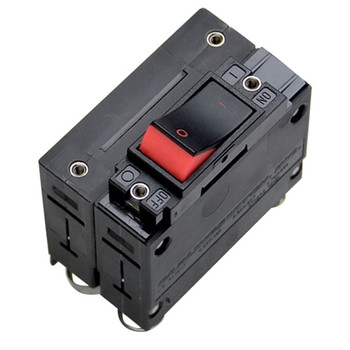 Mastervolt Double Pole Circuit Breaker Rocker - Red - 30A