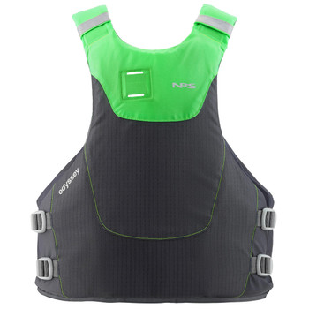 NRS Odyssey PFD Charcoal - back