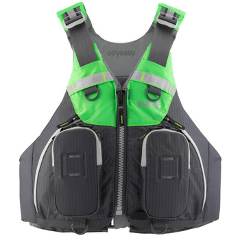 NRS Odyssey PFD Charcoal - front