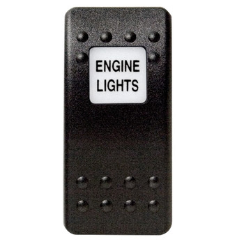 Mastervolt Waterproof Switch Button - Engine Lights