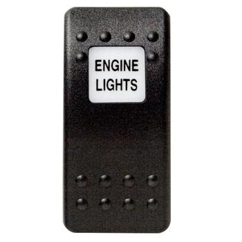 Mastervolt Waterproof Switch Button - Engine Lights
