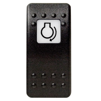 Mastervolt Waterproof Switch Button - Engine Start