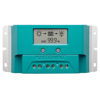 Mastervolt Solar ChargeMaster Charge Controller - SCM-20A PWM - Straight View