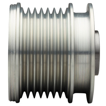 Mastervolt Alpha Compact Multigroove Pulley 8 Ribs - 50mm - Rips View