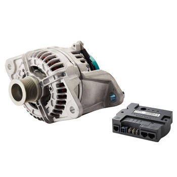 Mastervolt Alpha Compact Alternator - 28/80 Volvo Penta (with Pulley 8 Ribs - 48.1mm)