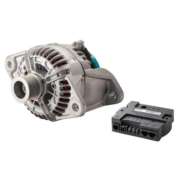 Mastervolt Alpha Compact Alternator - 28/150A Volvo Penta (with Pulley 8 Ribs - 48.1mm)