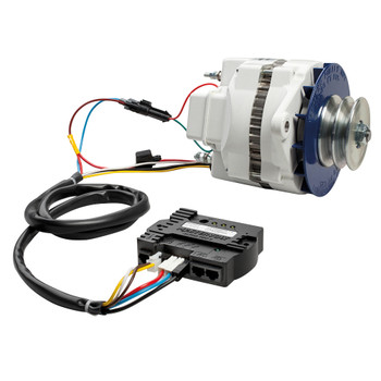 Mastervolt Alpha Alternator 12V/90A - MB - Connection View