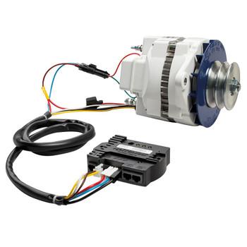 Mastervolt Alpha Alternator 12V/130A - MB Multigroove - Connection View