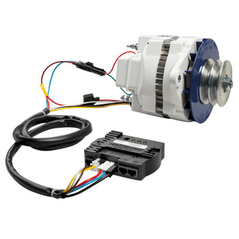 Mastervolt Alpha lll Multigroove Alternator - 24V/75A - Connection View
