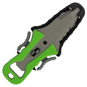 NRS Co-Pilot Knife, Green with Sheath