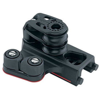 Harken Midrange Traveller End Control with Cam Cleat 1633 - Double Sheave (Set of 2)