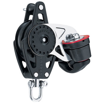 Harken Carbo Swivel Block with Cam Cleat and Becket 2616 - 57mm