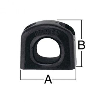 Harken Bullseye Fairlead 237 - 38mm - Dimension View