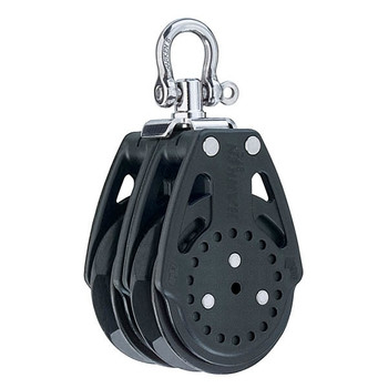 Harken Carbo Double Ratchamatic Block with Swivel 2634 - 57mm