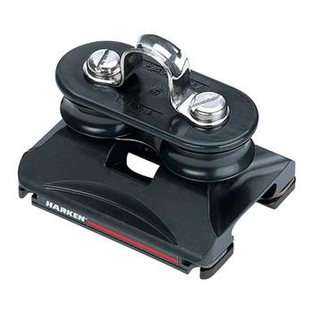 Harken Low-Load Car with Fixed Sheaves/Eyestrap 2728 - 22mm