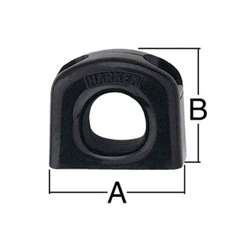 Harken Bullseye Fairlead 339 - 19mm - Dimension View
