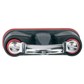 Harken Aluminum Wide Standard Double Cam-Matic Cleat 412 - Top View