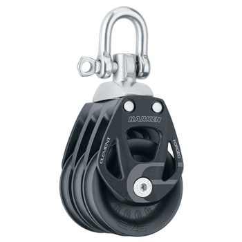 Harken Aluminum Element Triple Swivel Block 6240 - 45mm