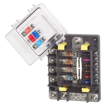 Blue Sea SafetyHub 150 Fuse Block - Close View