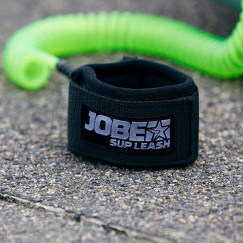 Jobe SUP Leash Coilet - 10' - Logo View