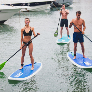 Jobe Titan Kura 10.6 Paddle Board - action