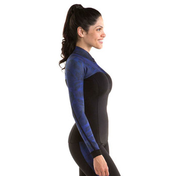 Jobe Verona Top - Women - 1.5mm - Indigo Blue - Side View