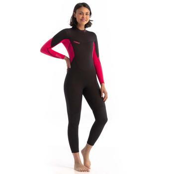 Jobe Sofia 3/2mm Full Wetsuit for Women in hot pink
