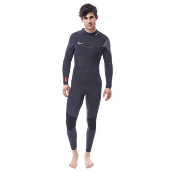 Jobe Yukon Full Wetsuit - Men - 4/3mm - Dark Grey