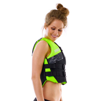 Jobe Neoprene Vest - Women - Lime Green - Side View