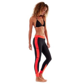 Jobe Verona Reversible Legging - Women - 1.5mm - Red/Black - Side View
